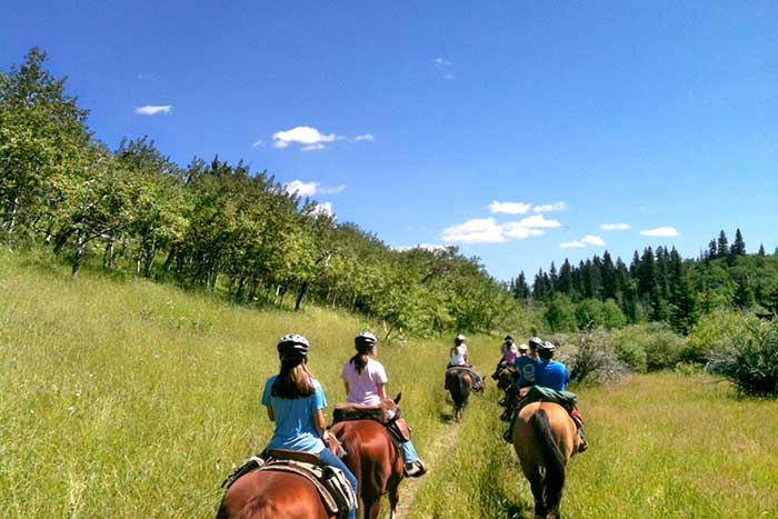 Horseback riding - Glacier & Waterton Lakes Family Multi-Adventure Camping Tour