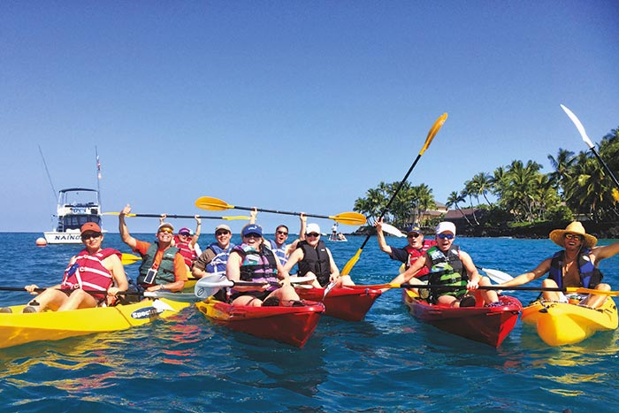 Kayaking - Hawaii's Big Island Multi-Adventure Tour