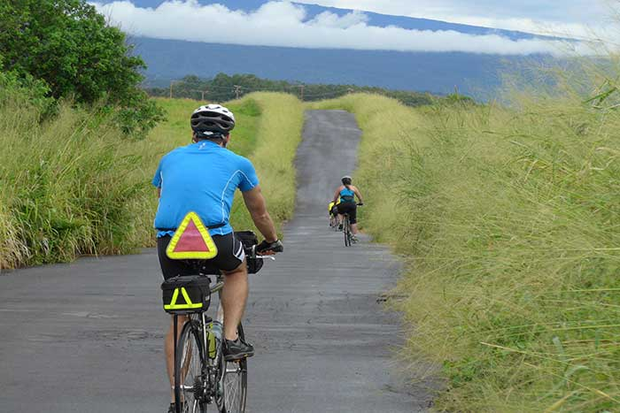 Cycling on Hawaii's Big Island Multi-Adventure Tour