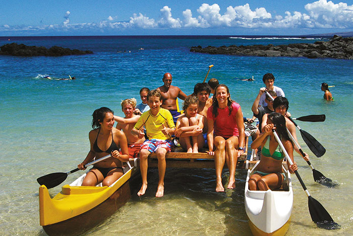 Kayaking - Hawaii Big Island Family Multi-Adventure Tour - Younger Kids