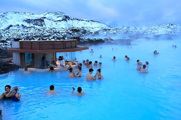 Blue Lagoon in Winter, Iceland