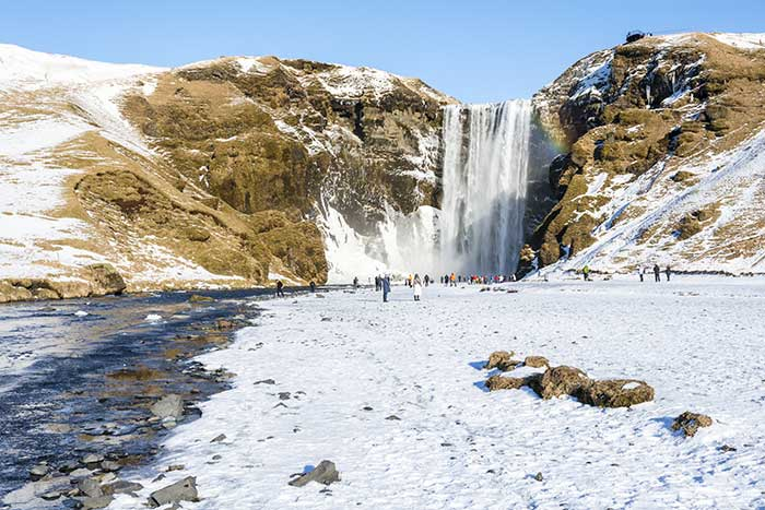 Waterfalls - Iceland Winter Snow Adventure Tour