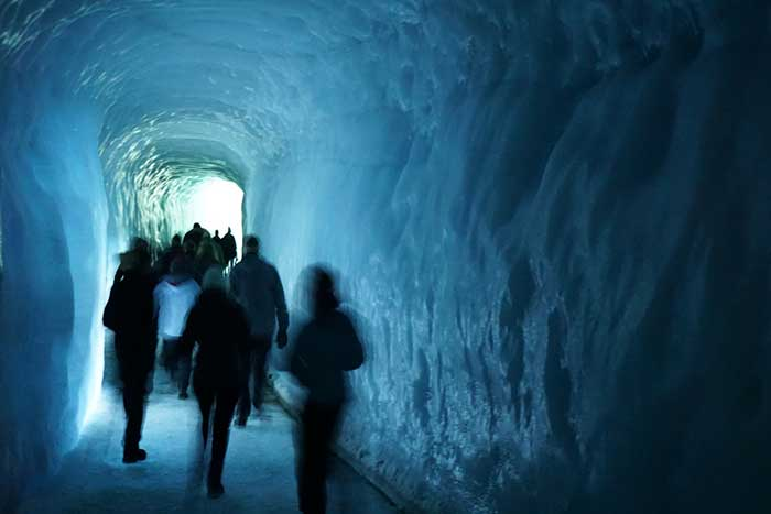 Ice cave - Backroads Iceland Winter Family Adventure Tour