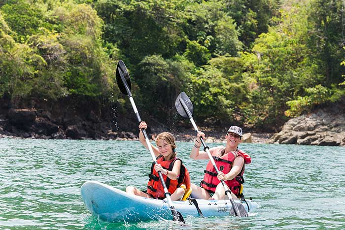 Family Kayaking on Backroads Maui & Lanai Family Multisport Adventure Tour