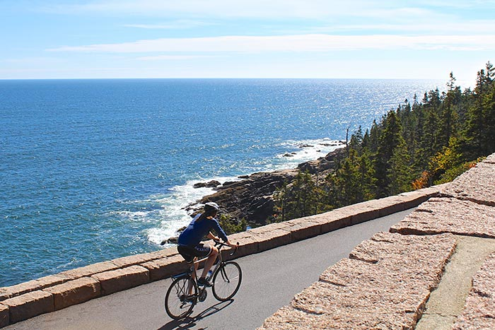 Biking - Maine Family Multi-Adventure Tour