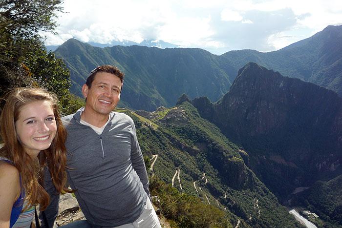 Family Biking Peru