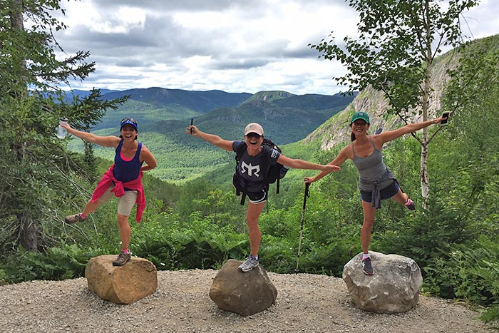 Hiking on Backroads Quebec Family Breakaway Multisport Adventure Tour