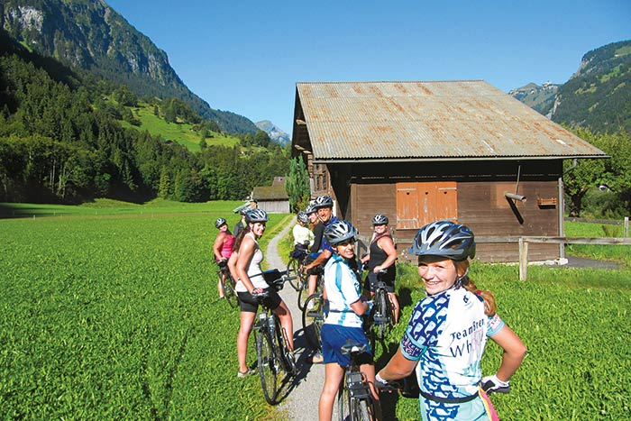 Backroads Switzerland family bike tours