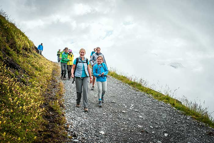 Switzerland family hiking trips