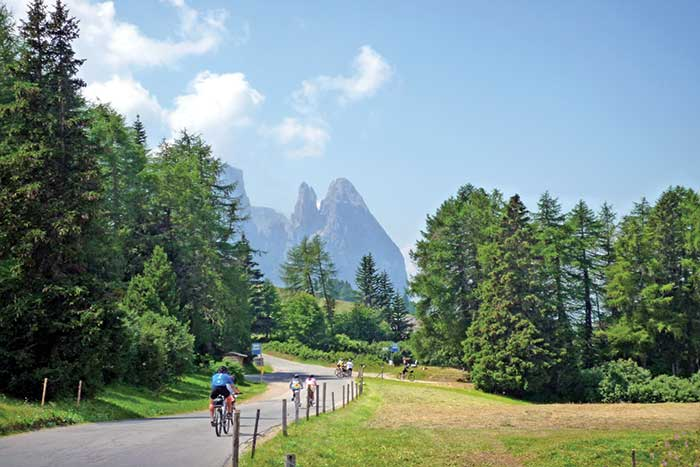 Biking on Backroads Dolomites Multi-Adventure Tour