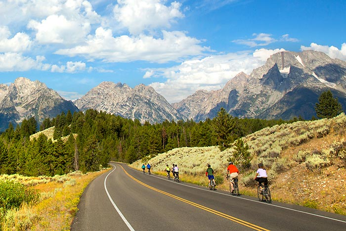 Biking - Tetons  Family Multi-Adventure Tour