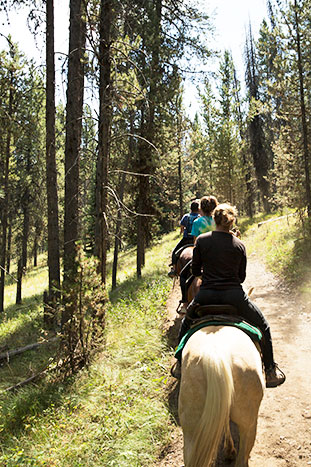Horseback riding - Yellowstone, Tetons & Bozeman Family Multi-Adventure Tour