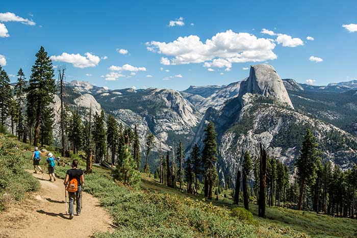 Hiking on Backroads Yosemite Multisport Adventure Tour