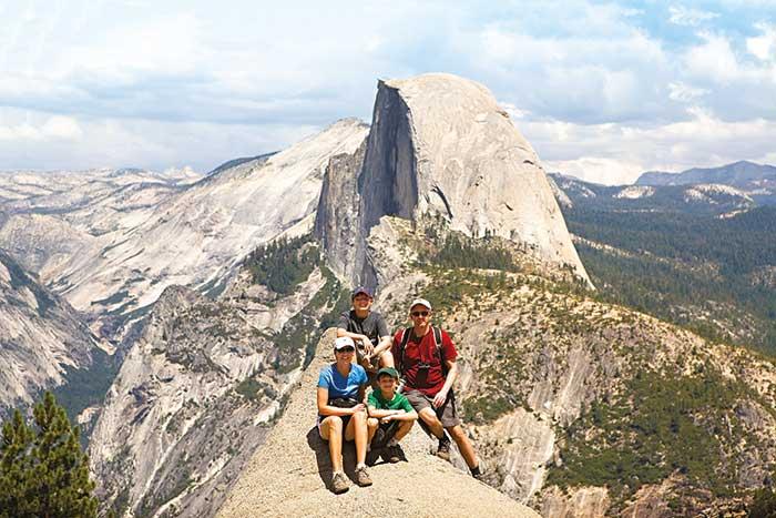 Backroads Yosemite Family Multisport Tour