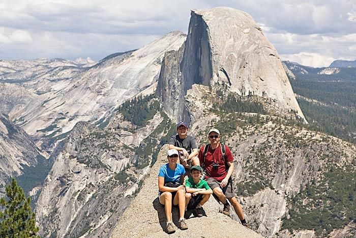 Hiking on Backroads Yosemite Family Multi-Adventure Tour