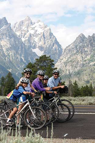 Backroads Yellowstone & Tetons Family Multisport Tour
