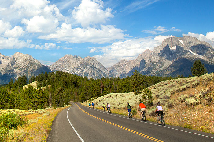 Biking - Yellowstone & Tetons Family Multi-Adventure Camping Tour