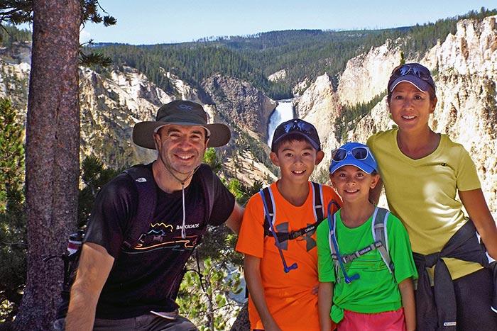 Family hiking - Yellowstone & Tetons Family Multi-Adventure Camping Tour