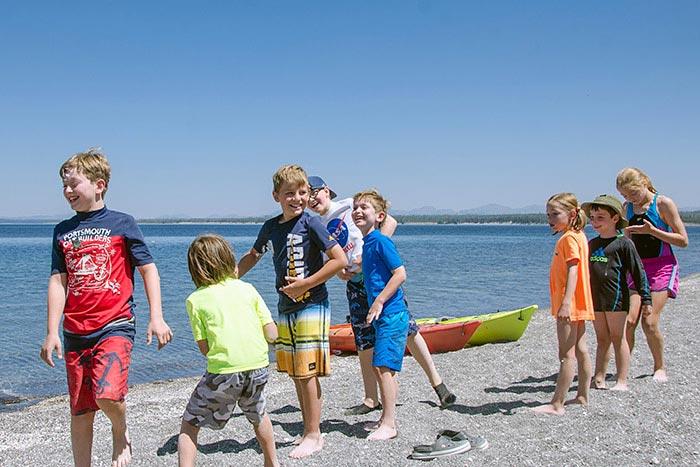 Yellowstone Tetons Family Multi Adventure Camping Tour