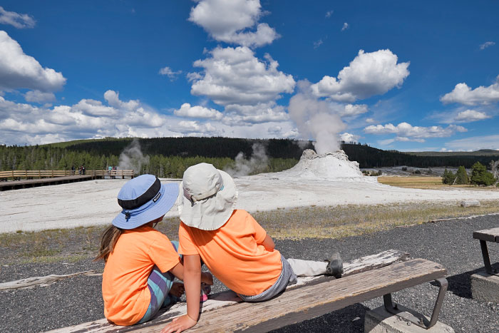 Yellowstone & Tetons Family Multi-Adventure Camping Tour