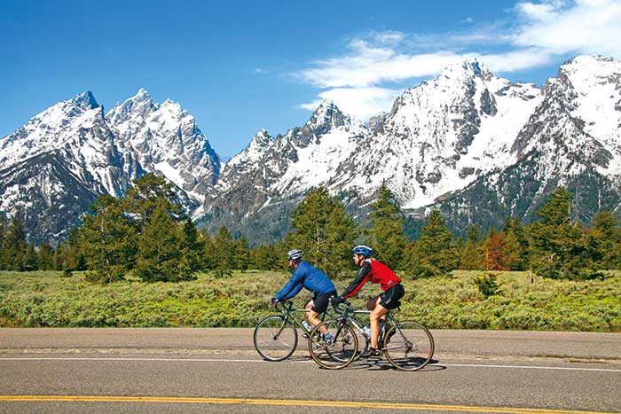 Backroads Yellowstone & Tetons Multisport Adventure Tour