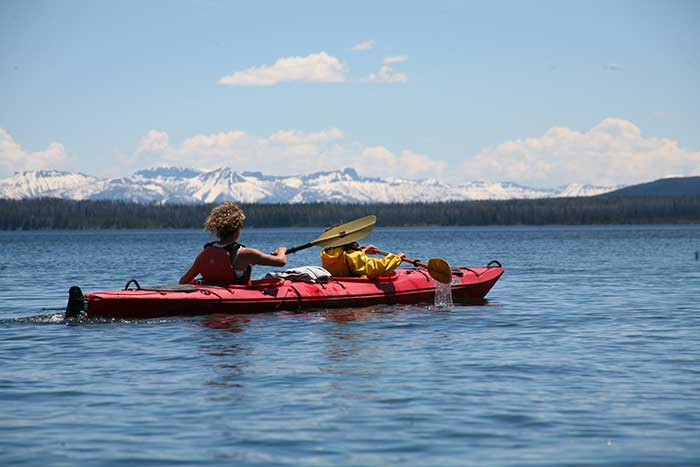 Kayaking - Backroads Yellowstone & Tetons Family Multisport Adventure Tour