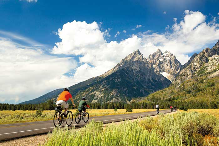 Backroads Yellowstone & Tetons Family Breakaway Multisport Adventure Tour