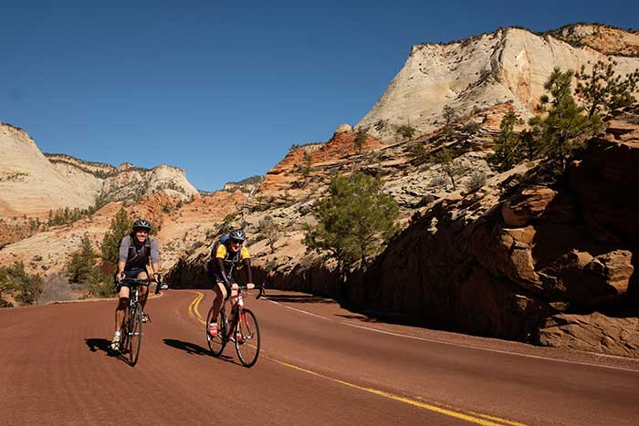 Cycling - Backroads Bryce and Zion Multi-Adventure Tour