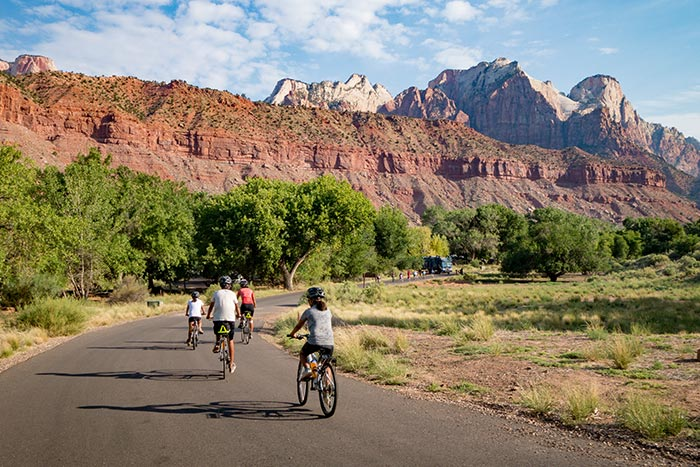 Biking on Backroads Bryce and Zion Family Multisport Adventure Tour