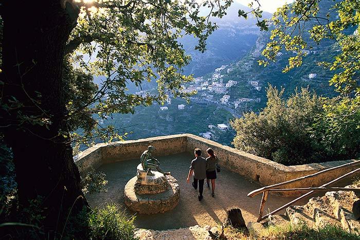 Garden, Amalfi Coast, Italy