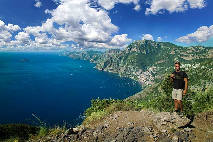 Hiking the Amalfi Coast, Italy