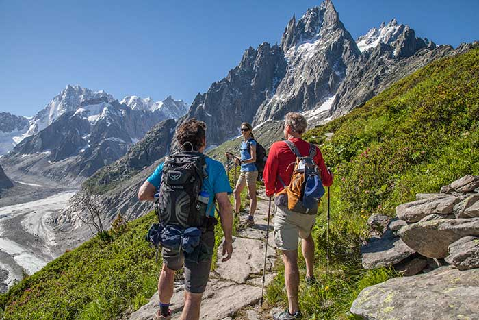 French, Swiss & Italian Alps Family Walking & Hiking Tour – Older Teens & 20s