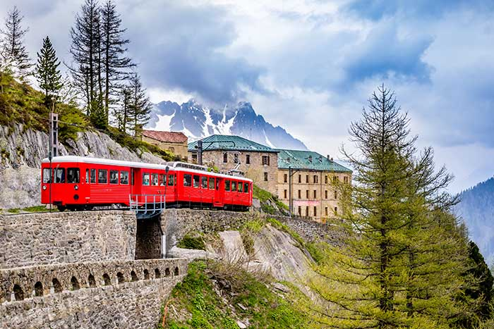Train - French, Swiss & Italian Alps Family Walking & Hiking Tour—Teens & Kids