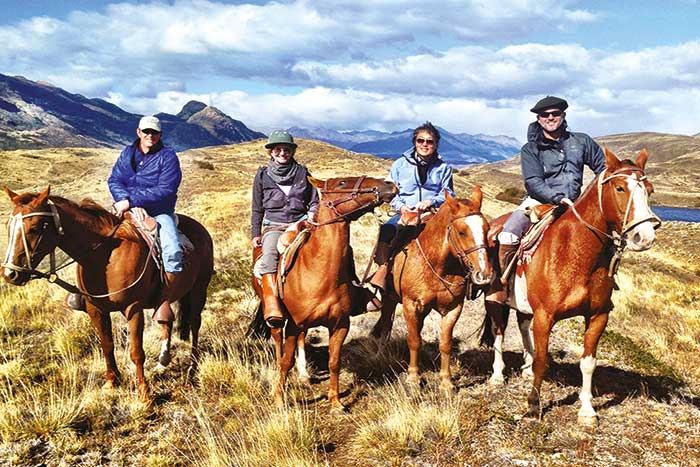 Horseback Riding in Patagonia, Argentina