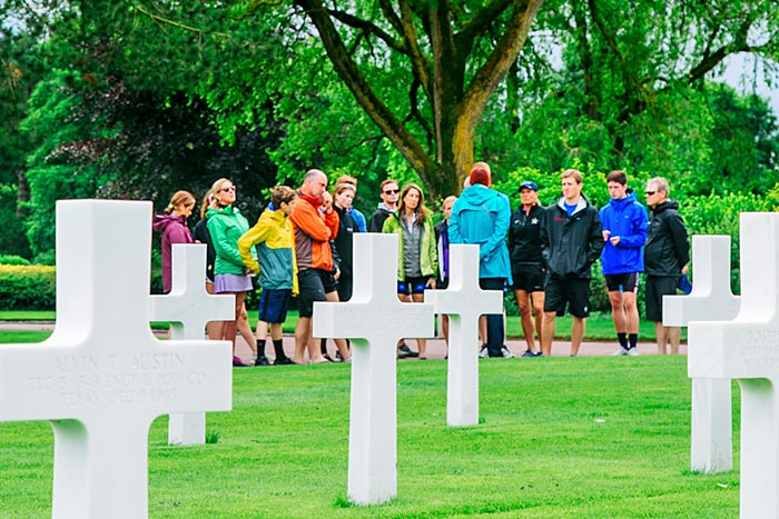 WWII Cemetery - Brittany & Normandy Walking & Hiking Tour