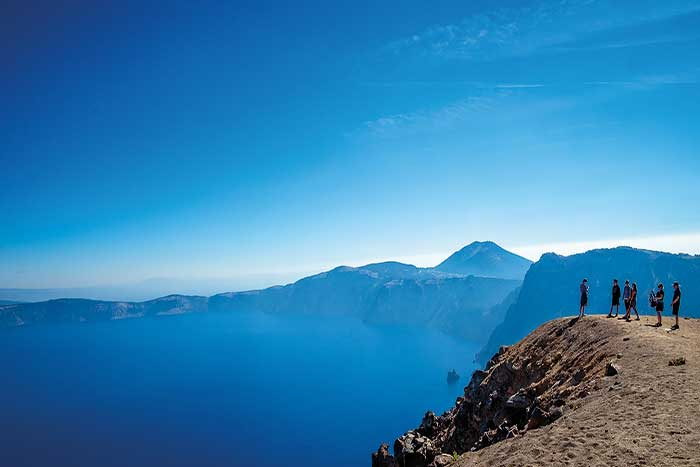 Crater Lake Hiking Tours