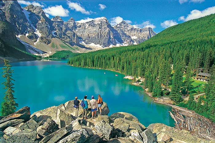 Moraine Lake, Banff National Park, Canadian Rockies