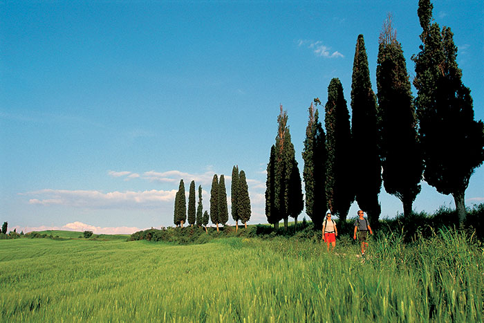 Hiking on Backroads Tuscany Cooking Vacations