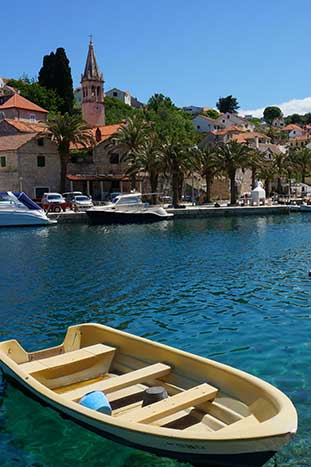 Boat - Dalmatian Coast Walking & Hiking Tour