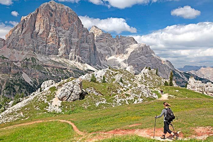 Hiking on Dolomites Family Hut-to-Hut Hiking Tour