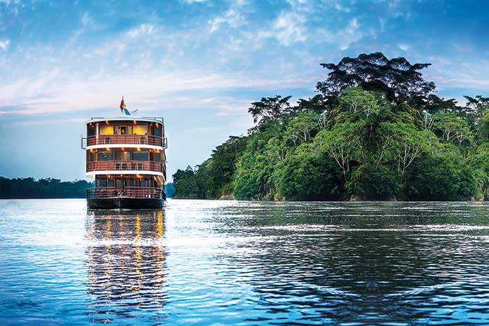 Anakonda Amaron River Ship - Amazon River Cruise Walking Tour