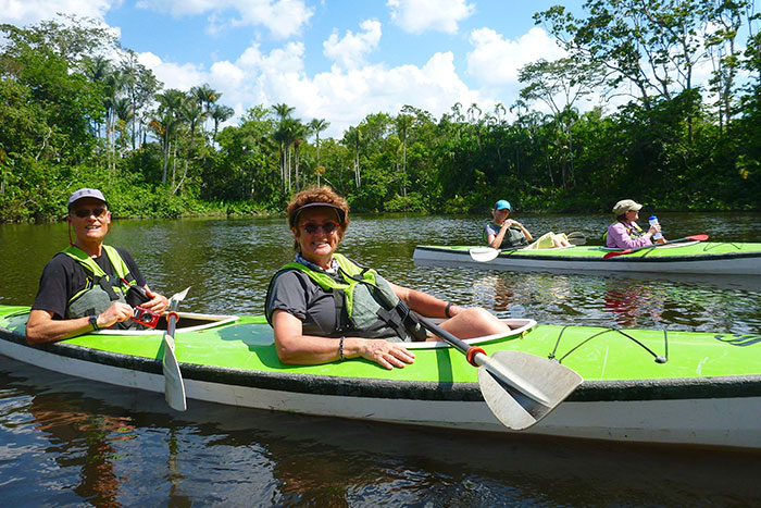 Kayaking- Galapagos, Andes and Amazon River Cruise Walking Tour