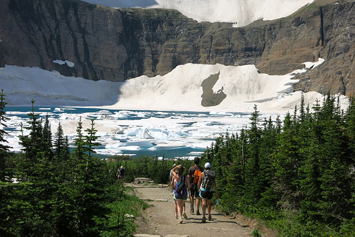 Backroads Glacier & Waterton Lakes Walking & Hiking Tour
