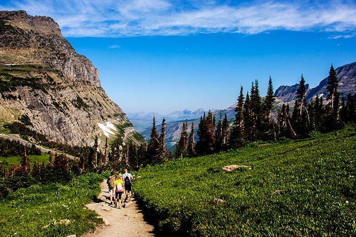 Glacier & Waterton Lakes National Park Family Hiking Tours