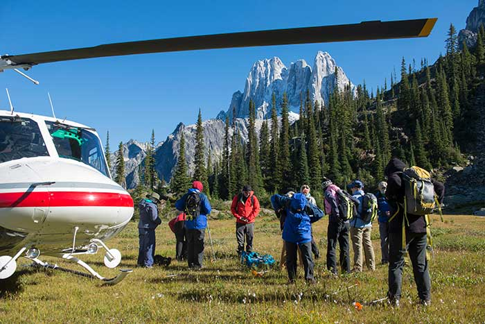 Backroads Canadian Rockies Heli-Hiking Tour