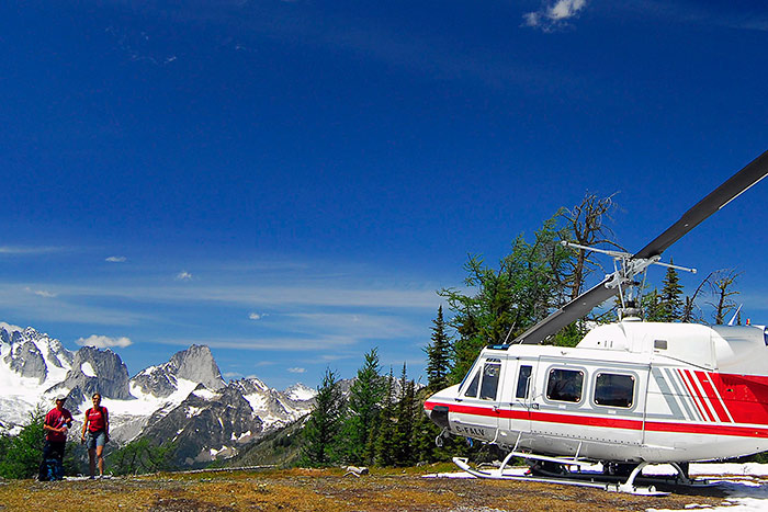 Backroads Canadian Rockies Family Breakaway Heli-Hiking Tour