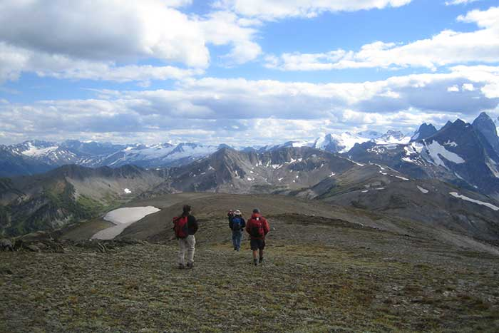 Backroads Canadian Rockies Family Heli-Hiking Tour
