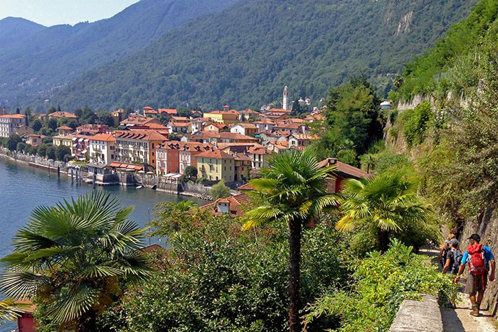 Garden - Italian Lakes Walking & Hiking Tour