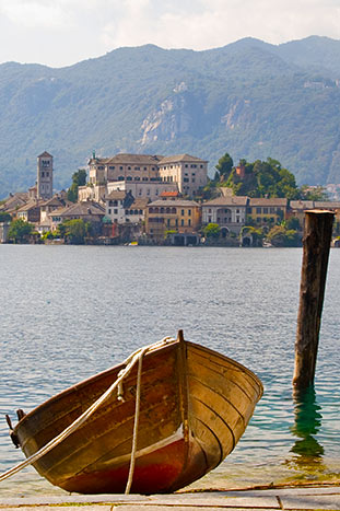 Boat on Backroads Italian Lakes Walking & Hiking Tour