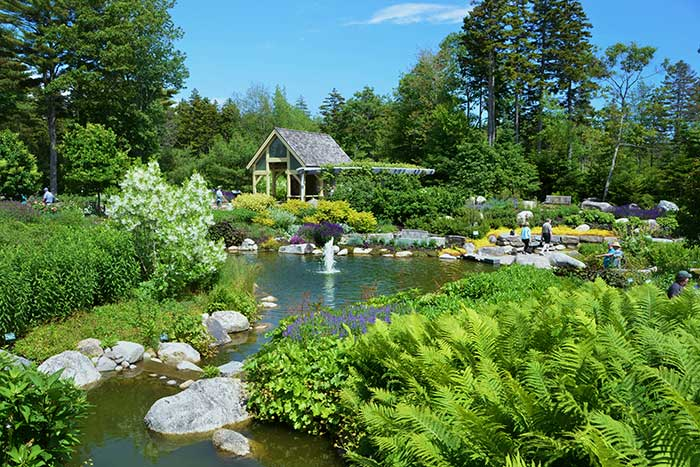 Botanical Gardens - Maine Walking & Hiking Tour
